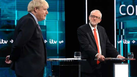 Jeremy Corbyn Boris Johnson General Election 2019 leaders debate