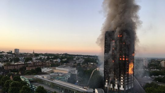 Grenfell tower fire immigration