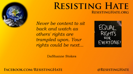 Resisting Hate anti-hate organisation