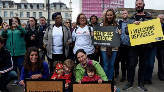 Refugees in Scotland have been given the vote