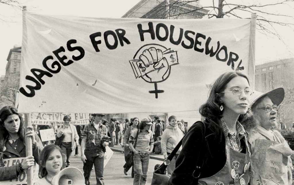 international woman's day and wages for housework