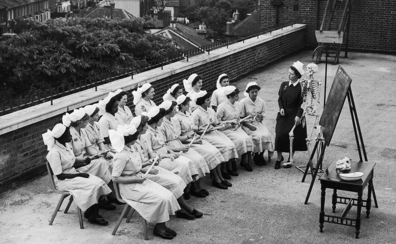 Early NHS Nurses Learning