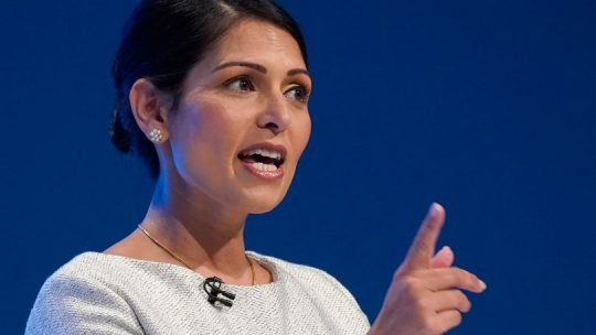 Priti Patel Visa Extension