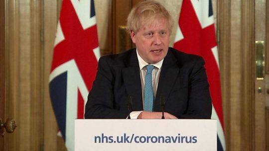 boris johnson taken to hospital coronavirus