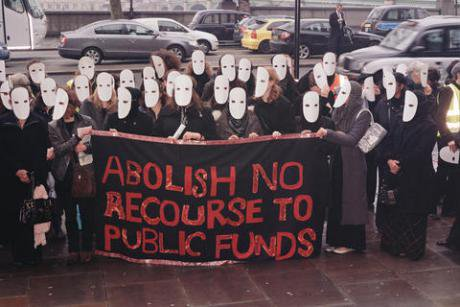 Southall Sisters protest No Recourse to Public Funds