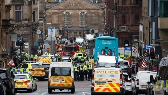glasgow attack asylum seekers