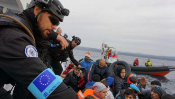 Frontex border force scrutinised over allegations of illegal pushbacks EU policy Aegean Sea