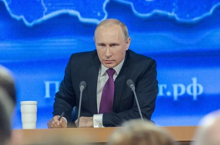 Alexei Navalny will continue to be Putins great critic. Picture of Russian President Vladimir Putin