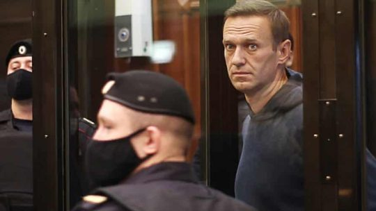 Alexei Navalny imprisoned