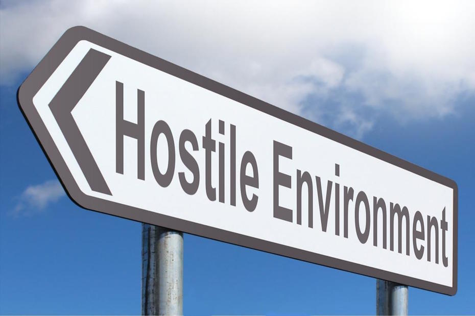 hostile environment sign immigration policies