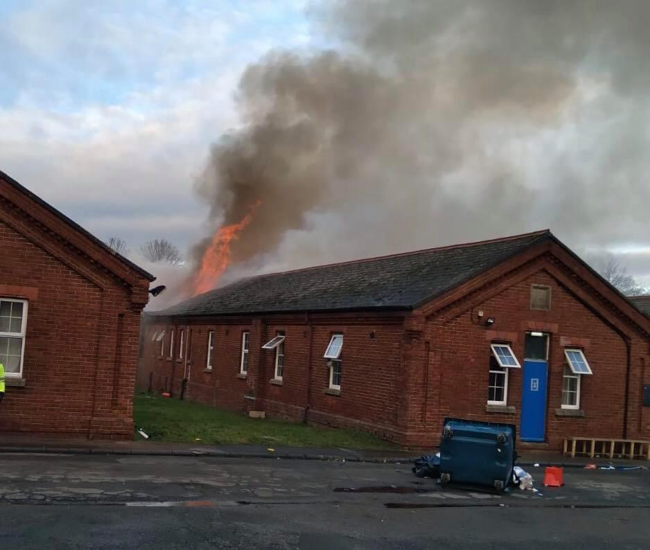 fire at napier barracks