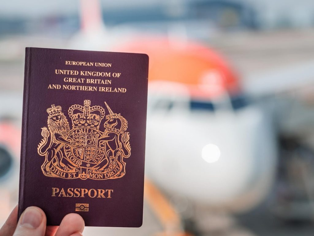 An advantage of dual citizenship is having two passports, including a british passport