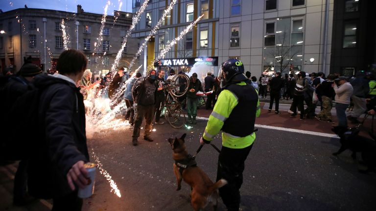 bristol protests police powers