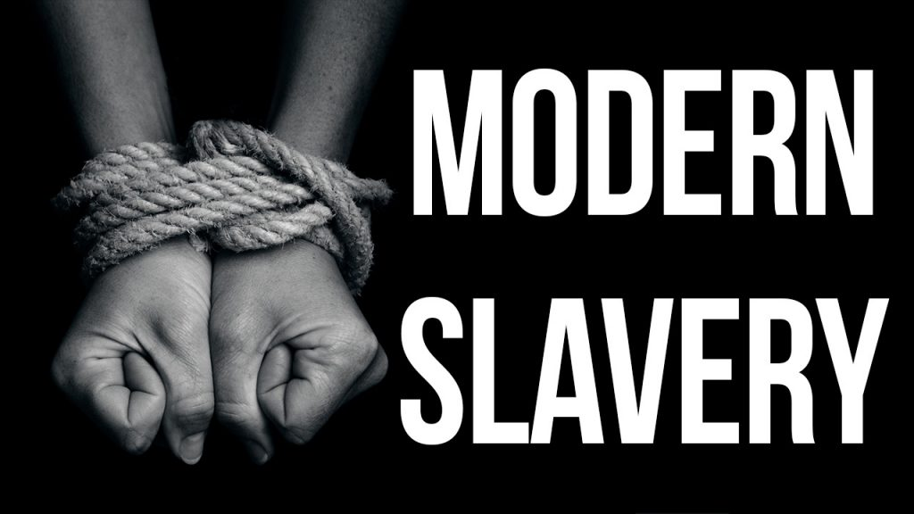 A persons wrists bound by rope to show proposals that the Modern Slavery Act's definitions be tightened