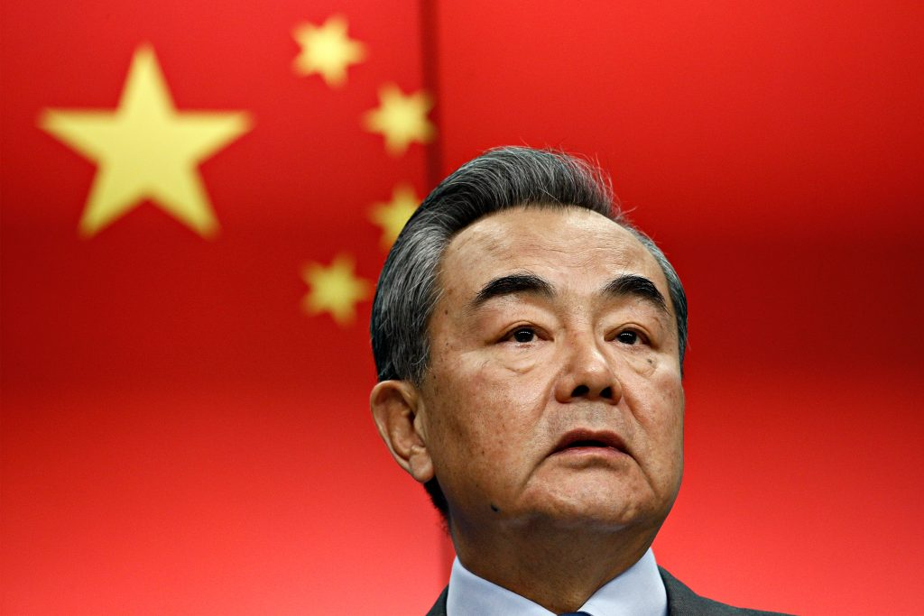 China's foreign minister Wang Yi has denied China's treatment of Uighurs breaches genocide convention